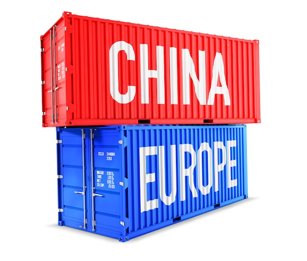 escasez contenedores china - europa